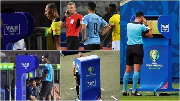 Copa America 2019: CONMEBOL danh gia tich cuc viec su dung VAR hinh anh 2