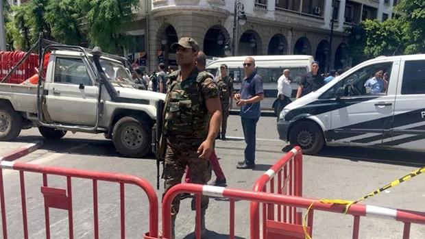 Tunisia: Danh bom lieu chet o Tunis,1 sy quan canh sat thiet mang hinh anh 1