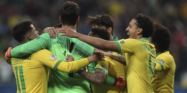 Brazil nhoc nhan loai Paraguay sau loat sut luan luu cang thang hinh anh 1