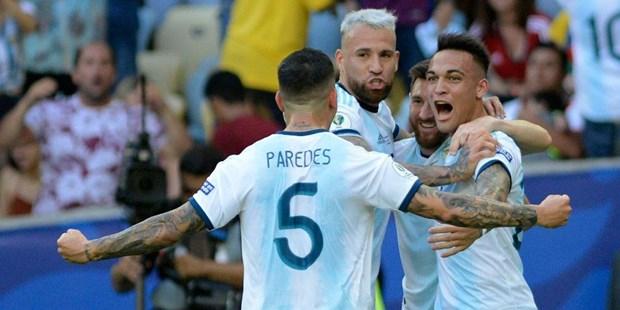 Argentina da 'chung ket som' voi Brazil tai Copa Ameria 2019 hinh anh 1