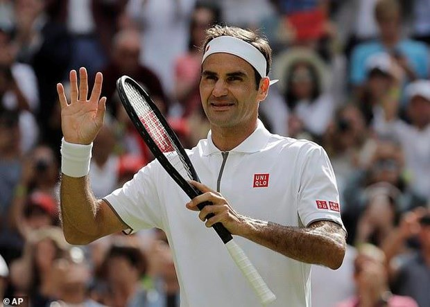 Wimbledon 2019: Federer thang nguoc, Sharapova dung cuoc choi hinh anh 1