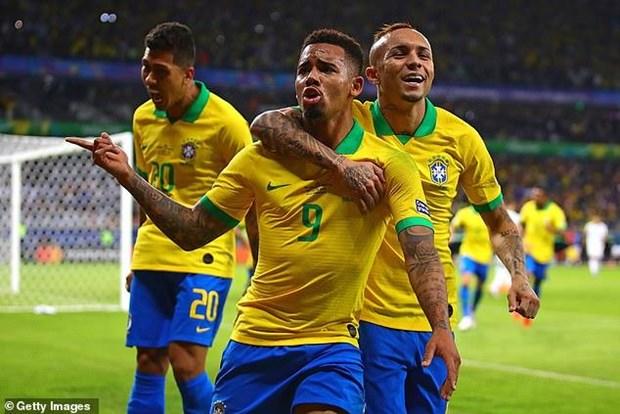 Thong ke an tuong tren hanh trinh vao chung ket cua tuyen Brazil hinh anh 1