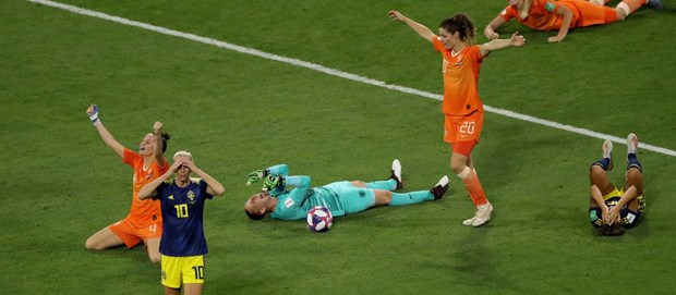 Ha Thuy Dien, Ha Lan lan dau vao chung ket World Cup nu hinh anh 1