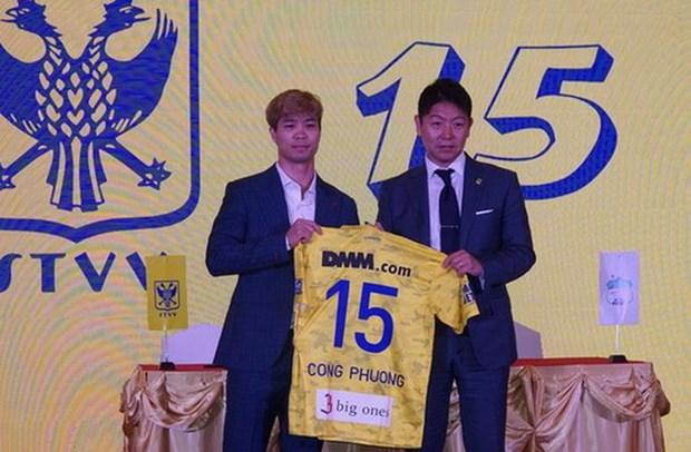 Nguyen Cong Phuong chinh thuc gia nhap CLB Sint-Truidense VV hinh anh 1