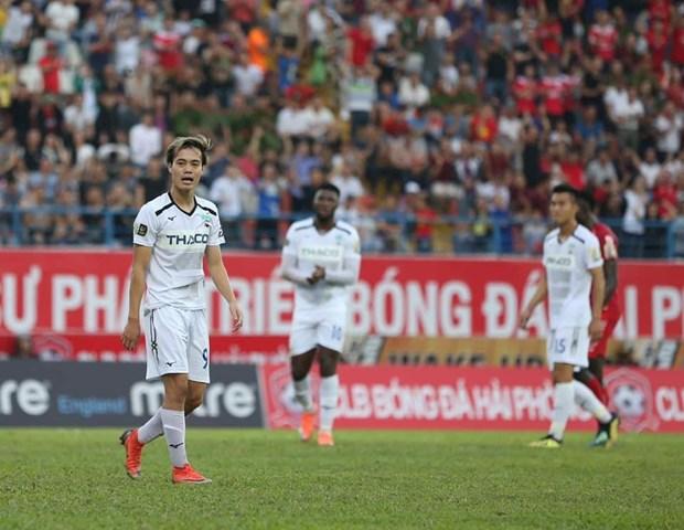 Vong 14 V-League: HAGL thua nguoc o Pleiku, Sanna Khanh Hoa lun sau hinh anh 1
