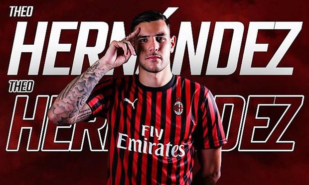 Theo Hernandez chia tay Real Madrid, gia nhap AC Milan hinh anh 1