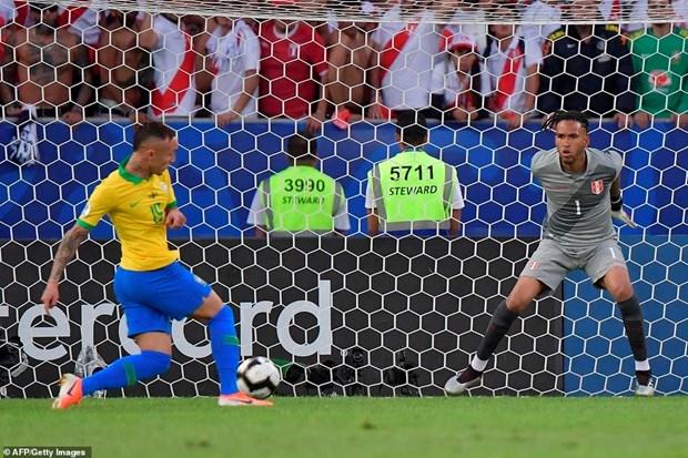 Danh bai Peru, Brazil lan thu 9 dang quang Copa America hinh anh 2