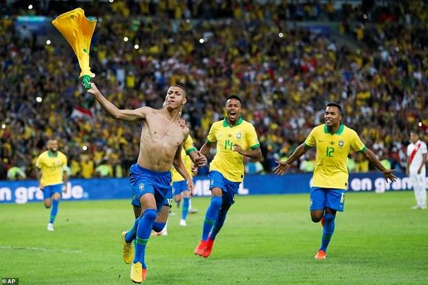 Danh bai Peru, Brazil lan thu 9 dang quang Copa America hinh anh 4