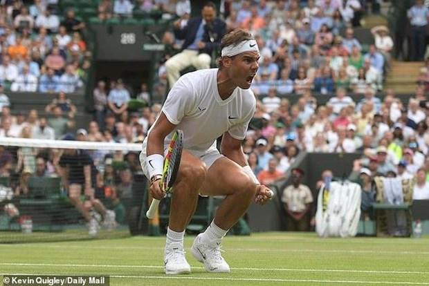 Wimbledon 2019: Federer lap ky tich, 'dai chien' Nadal o ban ket hinh anh 1