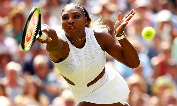 Serena Williams cham tran Simona Halep o chung ket Wimbledon hinh anh 1