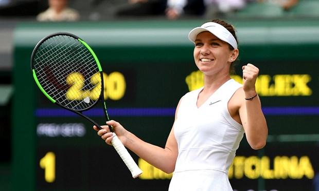 Ha Elina Svitolina, Simona Halep di vao lich su tai Wimbledon hinh anh 1