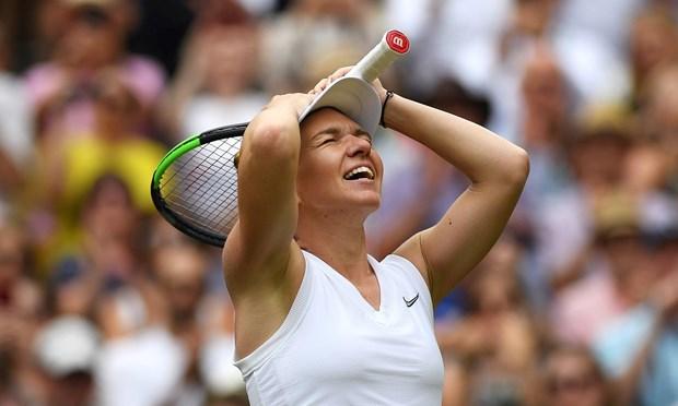 Ha Serena, Simona Halep lan dau tien gianh chuc vo dich Wimbledon hinh anh 1