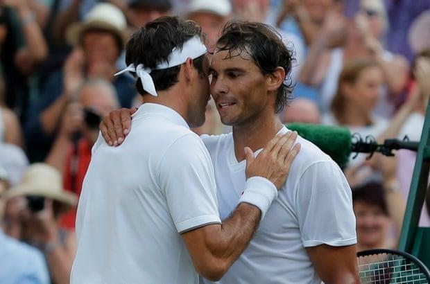 Ha Nadal, Roger Federer lan thu 12 vao chung ket Wimbledon hinh anh 1