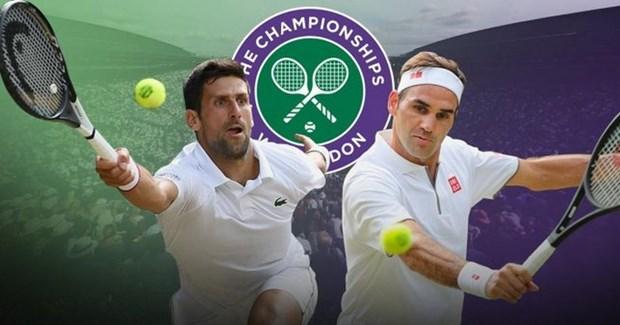 Nhung tran dau dang nho cua Federer va Djokovic tai Wimbledon hinh anh 1