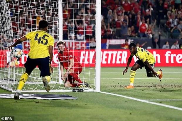 Bayern Munich bai tran truoc Arsenal o tran ra quan ICC 2019 hinh anh 3