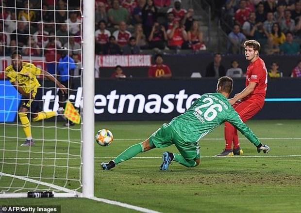 Bayern Munich bai tran truoc Arsenal o tran ra quan ICC 2019 hinh anh 1