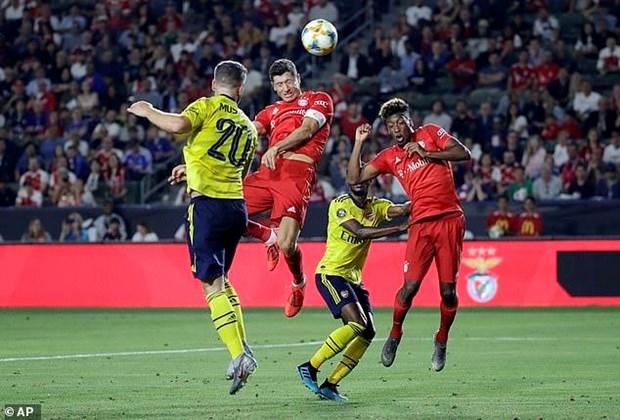 Bayern Munich bai tran truoc Arsenal o tran ra quan ICC 2019 hinh anh 2
