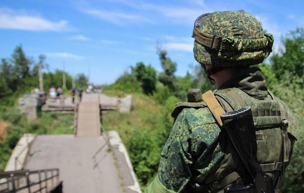Ukraine muon doi thoai binh dang voi Nga ve van de Donbass hinh anh 1