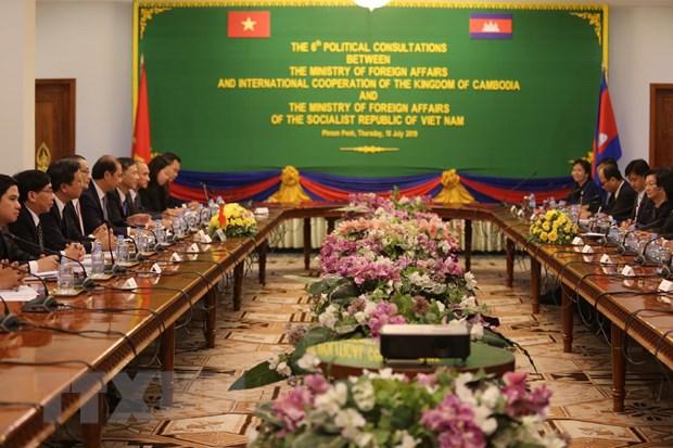 Hop tac toan dien Viet Nam-Campuchia khong ngung duoc cung co hinh anh 1
