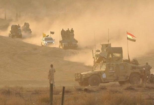 Iraq trien khai giai doan hai chien dich truy quet phien quan IS hinh anh 1