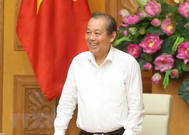 Pho Thu tuong Thuong truc Truong Hoa Binh lam viec tai Son La hinh anh 1