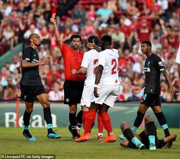 Liverpool nhan that bai thu 2 lien tiep trong chuyen du dau He hinh anh 1