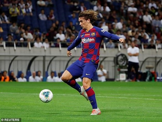 Can canh Barcelona thua Chelsea trong ngay ra mat Griezmann hinh anh 1