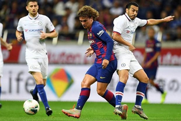 Antoine Griezmann mo nhat, Barcelona bai tran truoc Chelsea hinh anh 1
