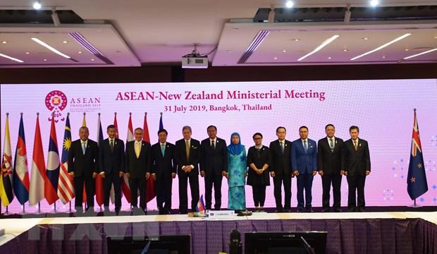 AMM-52: Cac Bo truong Ngoai giao ASEAN thao luan nhieu van de khu vuc hinh anh 2