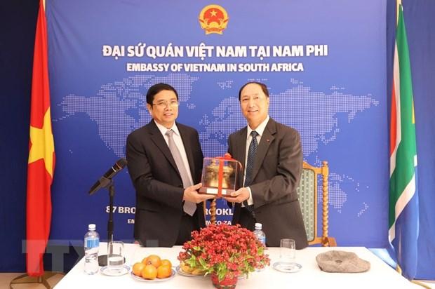 Viet Nam-Nam Phi tang cuong hop tac song phuong o nhieu linh vuc hinh anh 2