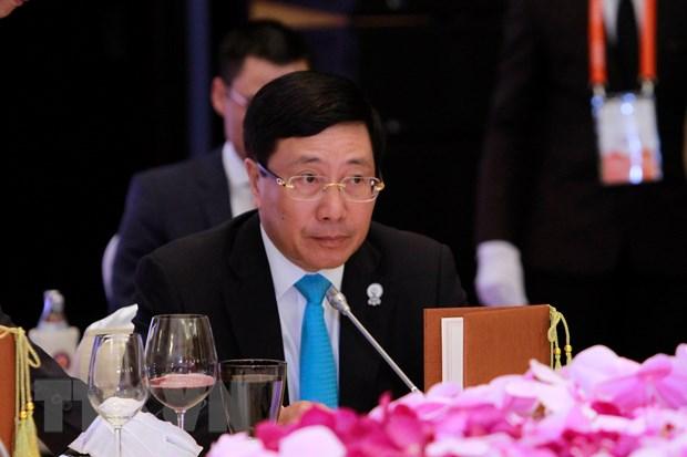 AMM-52: Cac Bo truong Ngoai giao ASEAN thao luan nhieu van de khu vuc hinh anh 3