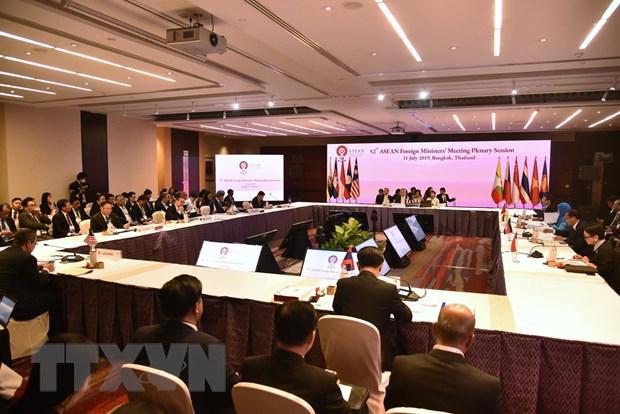 AMM-52: Cac Bo truong Ngoai giao ASEAN thao luan nhieu van de khu vuc hinh anh 1