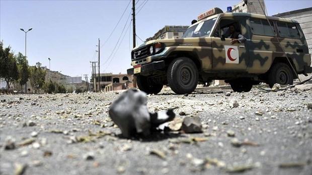 Yemen: Tan cong lien tiep tai thanh pho Aden, gan 40 nguoi thiet mang hinh anh 1