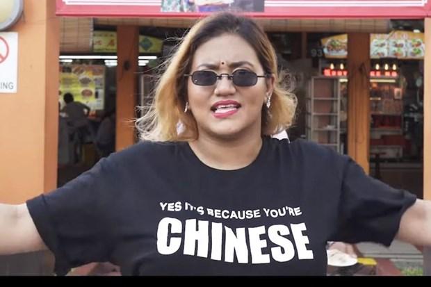 Singapore manh tay chan video phan biet chung toc tren cac mang xa hoi hinh anh 1