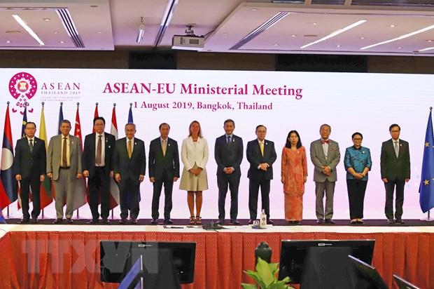Pho Thu tuong du Hoi nghi Bo truong Ngoai giao ASEAN voi cac doi tac hinh anh 1