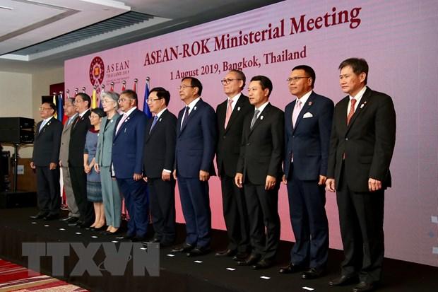 Pho Thu tuong du Hoi nghi Bo truong Ngoai giao ASEAN voi cac doi tac hinh anh 2