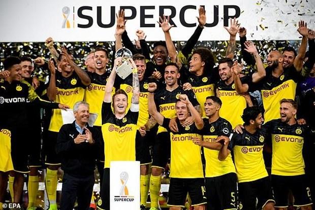 Danh bai Bayern, Dortmund lan thu 6 gianh Sieu cup Duc hinh anh 1