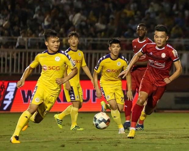 Vong 19 V-League: TP.HCM 'dang' ngoi dau bang cho Ha Noi FC hinh anh 1