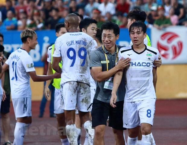 Vong 19 V-League: TP.HCM 'dang' ngoi dau bang cho Ha Noi FC hinh anh 2
