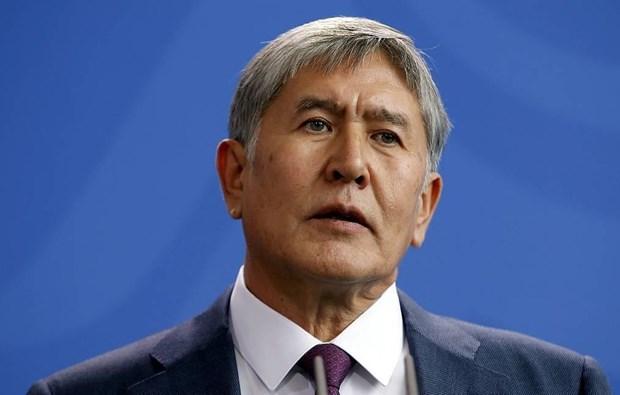 Cuu Tong thong Kyrgyzstan Almazbek Atambayev bi bat giu hinh anh 1