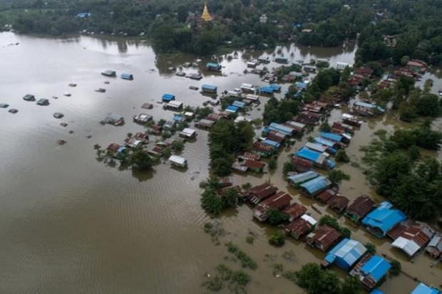Hang chuc nghin nguoi o Myanmar so tan do lu lut hoanh hanh hinh anh 1