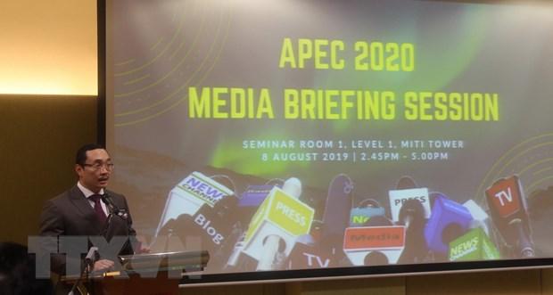 Malaysia: APEC 2020 se dua ra muc tieu tiep noi Muc tieu Bogor hinh anh 1