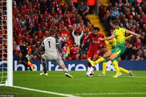 Liverpool thang tung bung trong ngay ra quan Premier League hinh anh 1