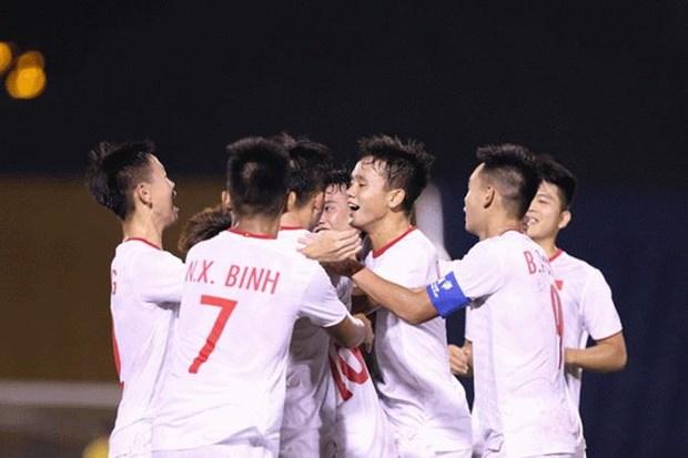 Ha Singapore, U18 Viet Nam san sang cho tran gap U18 Thai Lan hinh anh 1
