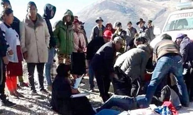 Tai nan giao thong nghiem trong tai Bolivia, 11 nguoi thiet mang hinh anh 1