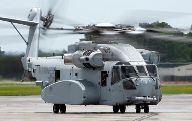 Hai quan My mua them 6 may bay truc thang van tai hang nang CH-53K hinh anh 1