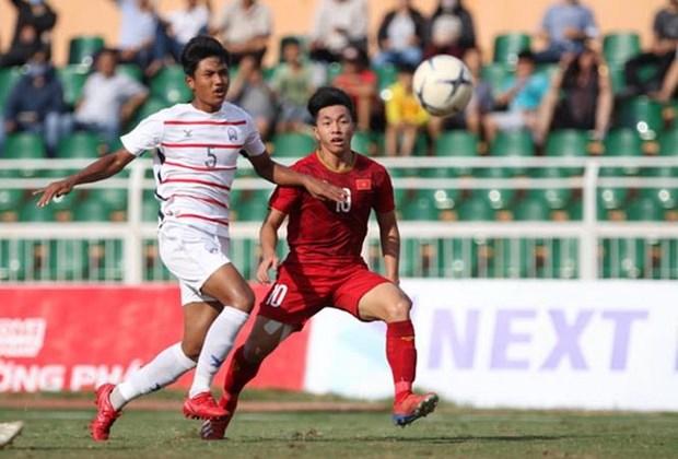 Thua soc U18 Campuchia, U18 Viet Nam bi loai khoi giai U18 Dong Nam A hinh anh 1