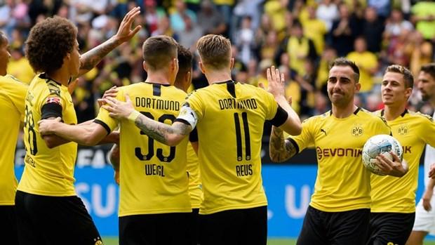 Borussia Dortmund 'pho truong suc manh' o vong mo man Bundesliga hinh anh 1