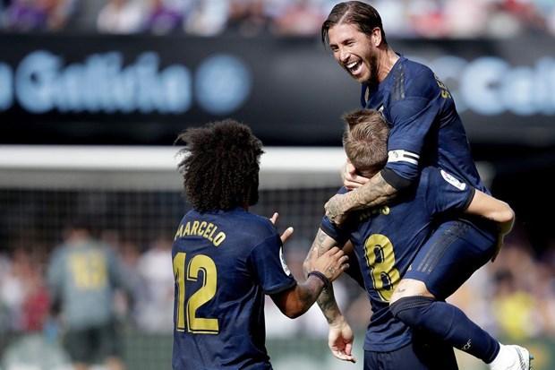 Video can canh Real Madrid thang dam ngay tren san Celta Vigo hinh anh 1