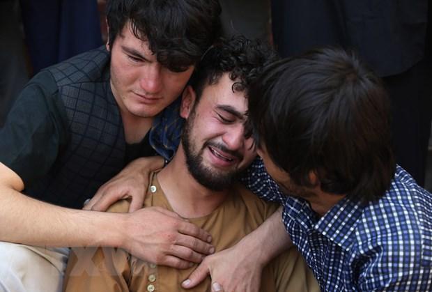 Afghanistan cam ket xoa so noi tru an cua IS sau vu danh bom dam cuoi hinh anh 1
